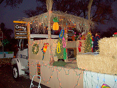 Lodi xmas float