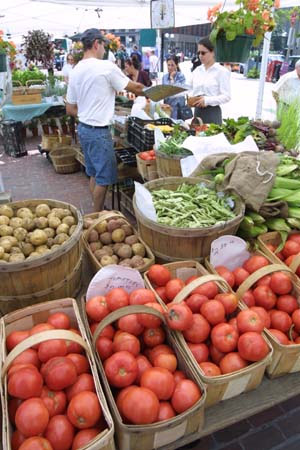 Northern California Farmers Market