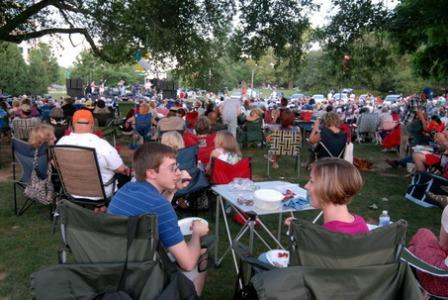 Northern California community events, concerts in the park