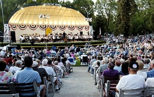 Northern California summer concerts in the park
