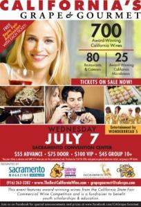 California's Grape and Gourmet in Sacrament July 7, 2010