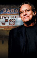 Lewis Black at the Gallo Center for the Arts in Modesto, July 9, 2010