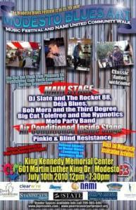 7th Annual Modesto Blues Festival, July 10, 2010