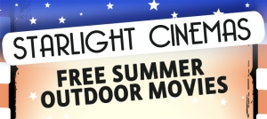 Starlight Cinemas, Free summer outdoor movies, San Jose CA