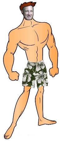 Jesse Gibbs Beach Body