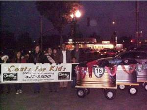 Los Banos office collected Coats for Kids 2009 at Christmas Parade