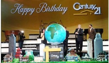 Century 21 40th Birthday Cake by the Cake Boss