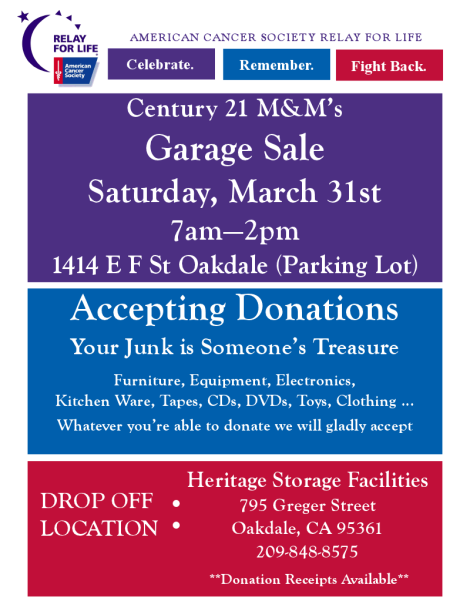 oakdale garage sale