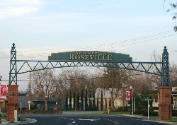 Roseville CA arch