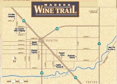 madera wine trail