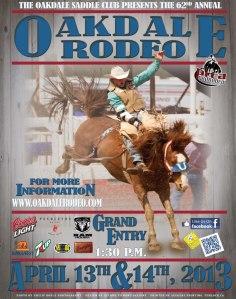 oakdale rodeo